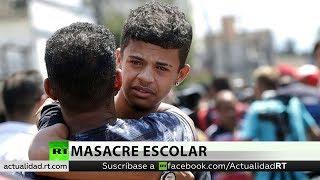 Testigos de la masacre en una escuela de Brasil cuentan detalles del ataque
