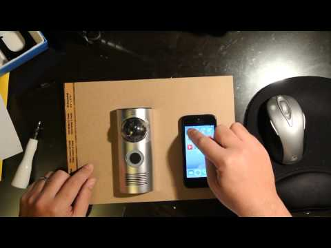 Doorbot Unboxing and Setup UNEDITED