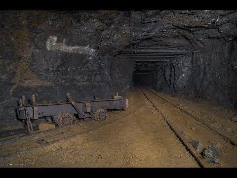 Altbergbau - Befahrung einer gewaltigen Eisenerzgrube