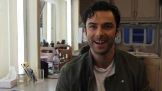 Aidan Turner on Poldark series two and the possibility of more topless scything