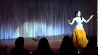 Yzzah 1st place winner at Magic of Belly Dance,masters award rising star Thumbnail
