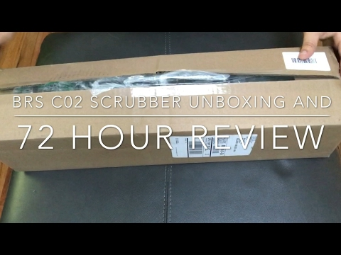 BRS C02 Scrubber Unboxing  - 72 Hour Review