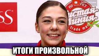 ИТОГИ ПРОИЗВОЛЬНОЙ ПРОГРАММЫ Женщины Кубок России 2020 Второй этап