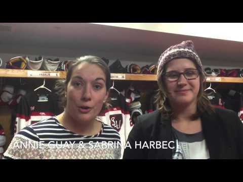 SLU women's hockey alumni game