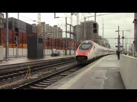 SBB CFF FFS EC 23 Zürich HB ⇒ Bellinzona ETR 610 / RABe 503 Tilt Train
