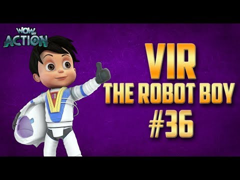 Vir: The Robot Boy | Hindi Cartoon Compilation For Kids | Compilation 36 | WowKidz Action Mp3