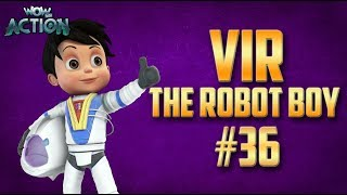 Vir: The Robot Boy | Hindi Cartoon Compilation For Kids | Compilation 36 | WowKidz Action