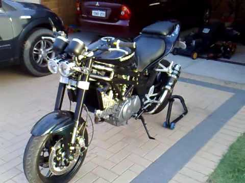 hyosung gt650 twin pipes youtube
