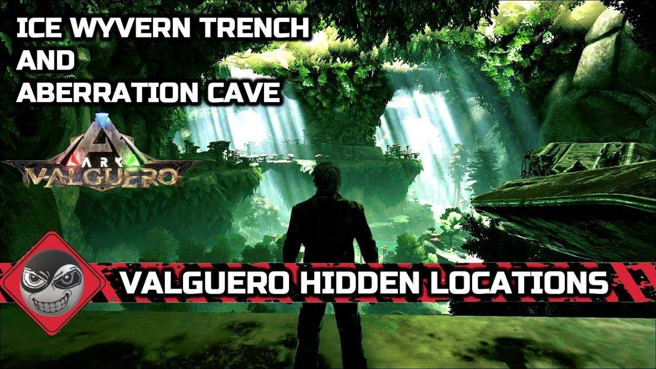 Ark Valguero Aberration Location