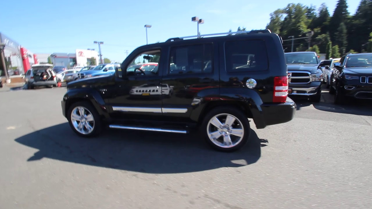 2012 jeep liberty limited jet edition | brilliant black | cw117184