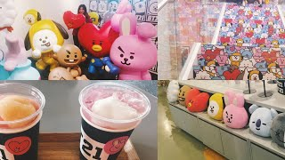 GOING TO THE BTS BT21 LINE FRIENDS STORE IN ITAEWON AND HONGDAE / SOUTH KOREA VLOG 15