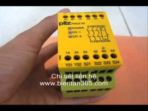 Pilz Vietnam-Ban Safety Relay PNOZ-X3-X7-XV2
