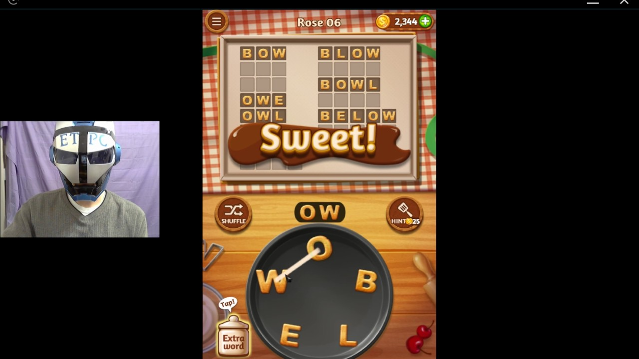 WORD COOKIES ROSE 6 SOLVED - YouTube