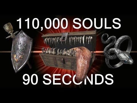 DARK SOULS 3: 110,000 Souls in 90 Seconds