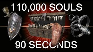 DARK SOULS 3: 110,000 Souls in 90 Seconds