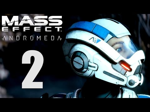 Mass Effect Andromeda Gameplay German - 2 - GENIALE CHARGE ATTACKE! | Let's Play Deutsch