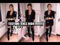 I SPENT £400 ON KNEE HIGH BOOTS | WHICH ONES ARE BEST?!!!