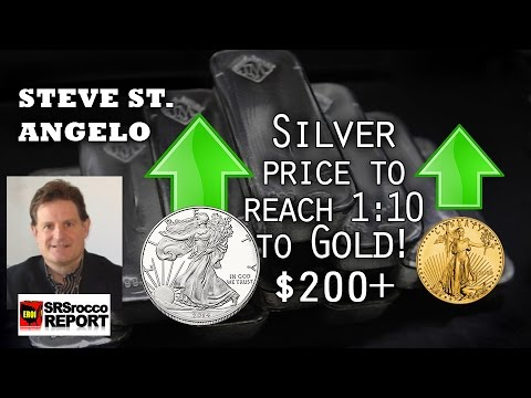 Silver to Gold Price to Reach 1:10 Ratio! Mining Expert Steve St. Angelo Interview