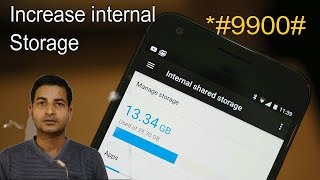 How to increase internal storage of any android phone.