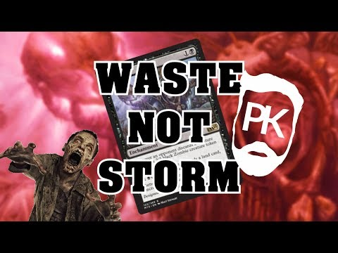 "MTG Waste Not Storm in Modern - ""Waste Not, Want Not!"""
