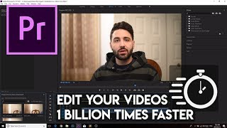 How to edit one BILLION times faster in Premiere Pro!!