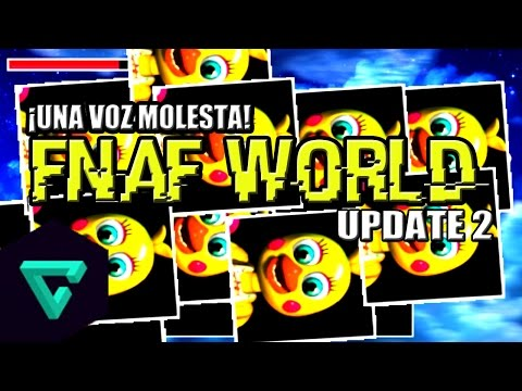 Five Nights at Freddy's World Update 2 | Team Foxy,Toy Chica,Nightmare Chica & JJ | Aviones :V
