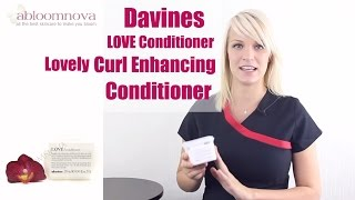 Davines LOVE Conditioner - Lovely Curl Enhancing Conditioner