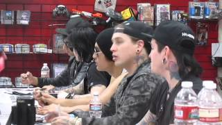 ESCAPE THE FATE(1 of 3)ZIA RECORD SIGNING AZ