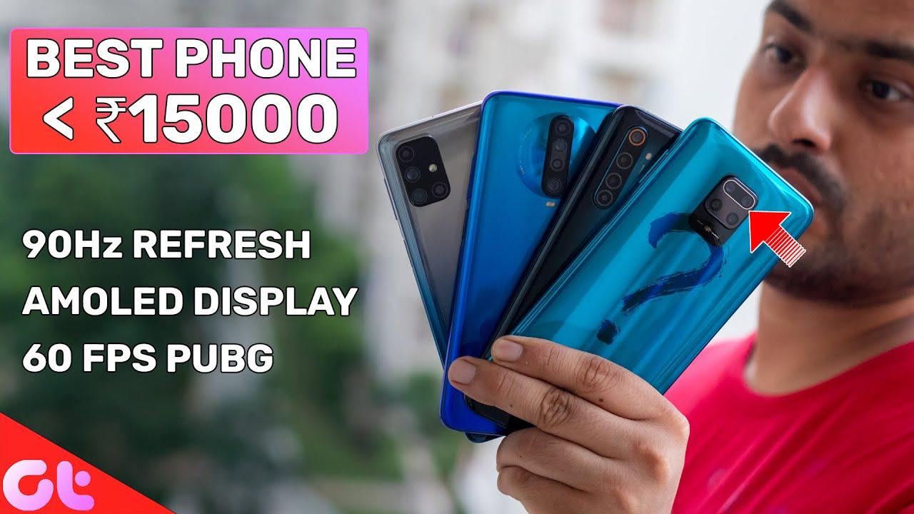 Top 8 Best Mobile Phones Under ₹15000 In Sept 2020 | SABKE BUDGET MEIN | GT Hindi