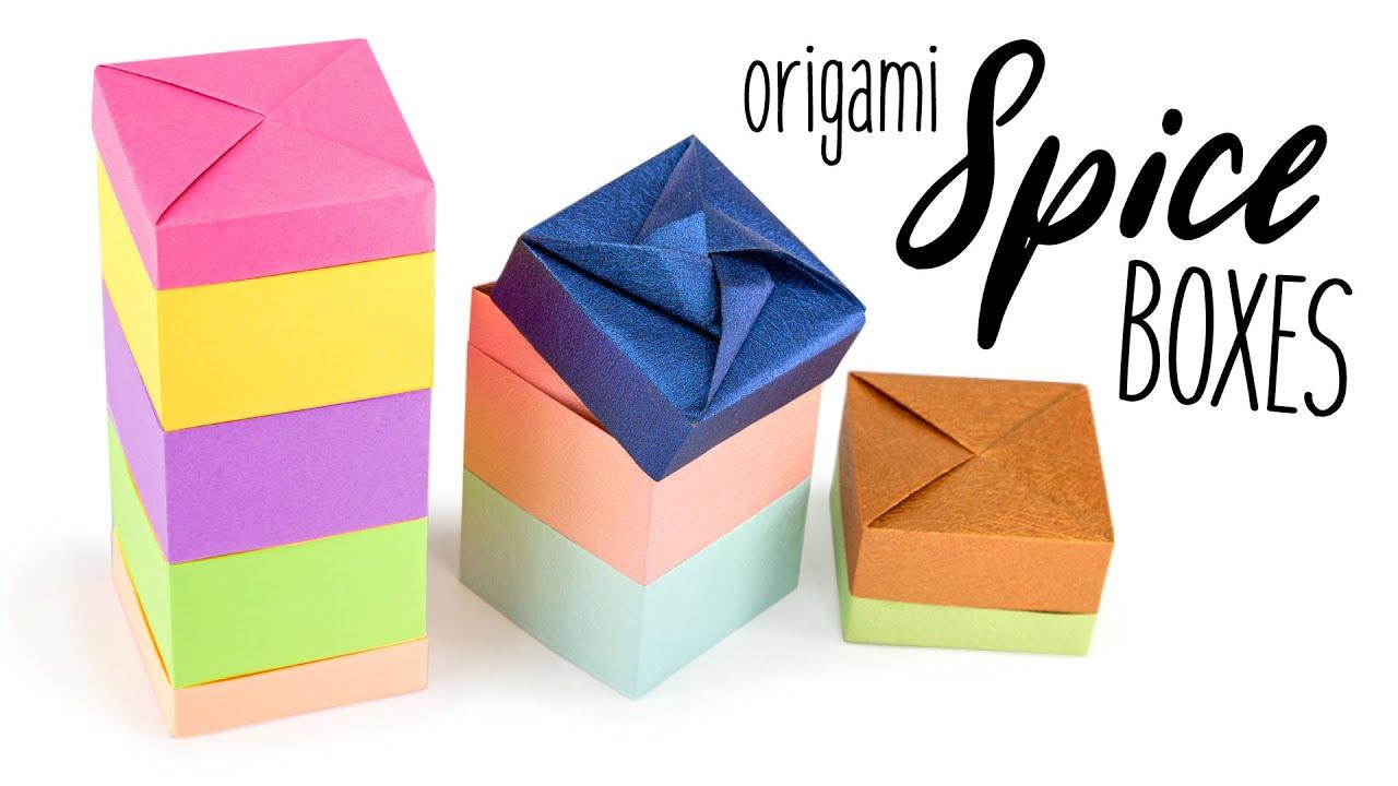 DIY Flower Box | Paper Box | Origami - YouTube | 720x1280