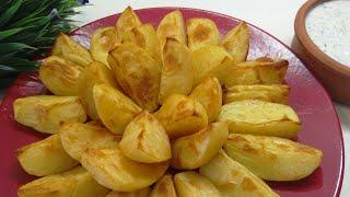 Картошка запечённая в духовке.