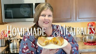 Homemade Meatball Recipe For Meatball Sandwiches