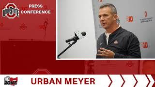 Ohio State Football-Urban Meyer 11-12-18