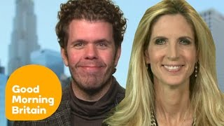 Ann Coulter and Perez Hilton Argue Over Trump Inauguration Boycott | Good Morning Britain