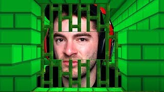 Trapped In A Green Minecraft Prison