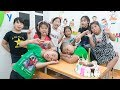 Kids Go To School | Birthday Chuns Best Friends Organize Surprise Birthday Especially In Classroom 2