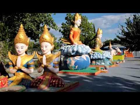 Buddhist Ceremony held at Wat Dhammararam Buddhist Temple in Stockton, California on 12May2018