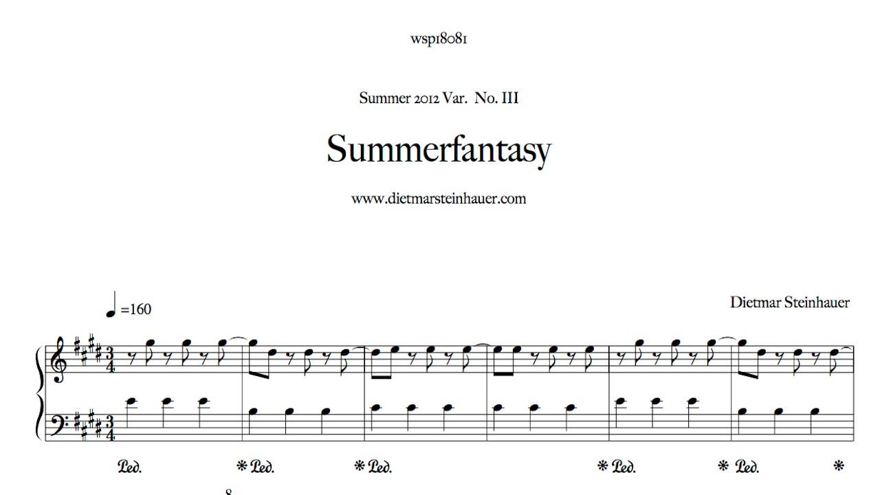 Summer fantasy youtube for Dietmar steinhauer
