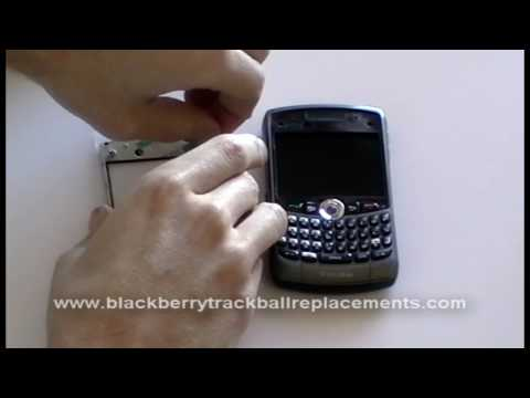 BlackBerry Curve 8320 8310 8300 Lens Screen Replacement Instructions