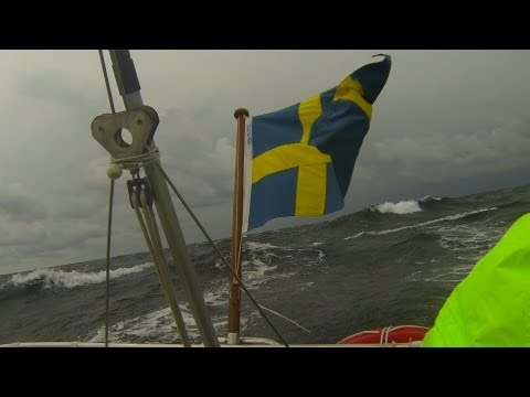 Sailing Ballad 2013 to Laesoe - good weather turns into gale