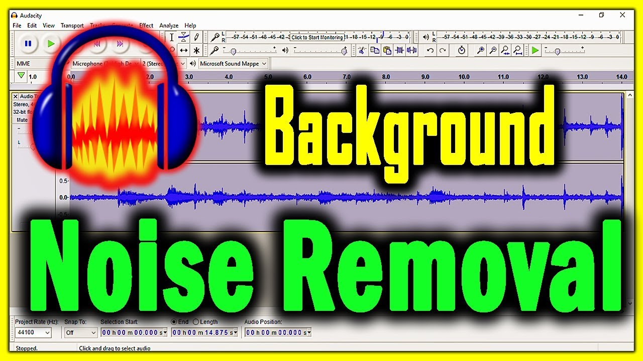 how to delete noise from audio