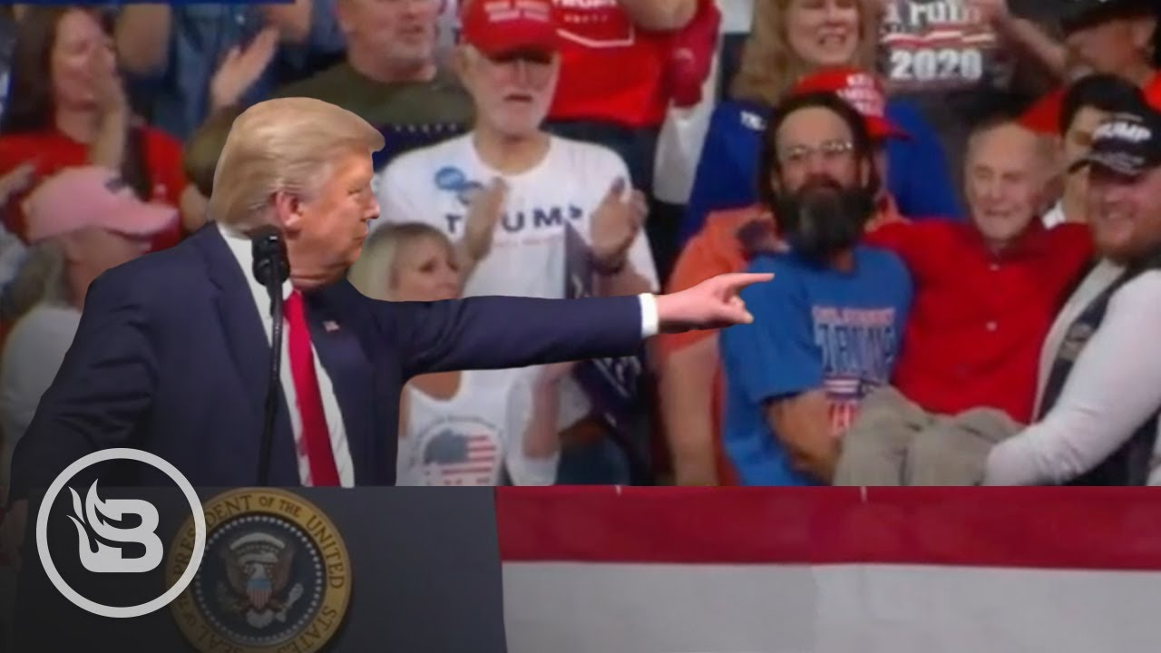 Trump Stops Rally to Honor WWII Vet, Sends Don Jr. to Deliver a Surprise