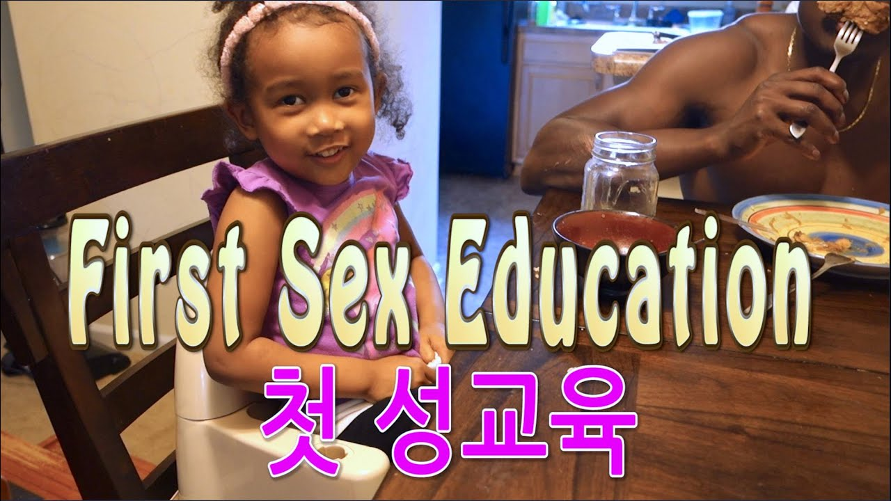 FIRST SEX EDUCATION 아이의 첫 성교육   STRUGGLES OF A STAY-AT-HOME MOM 2016 Vlog ep.63