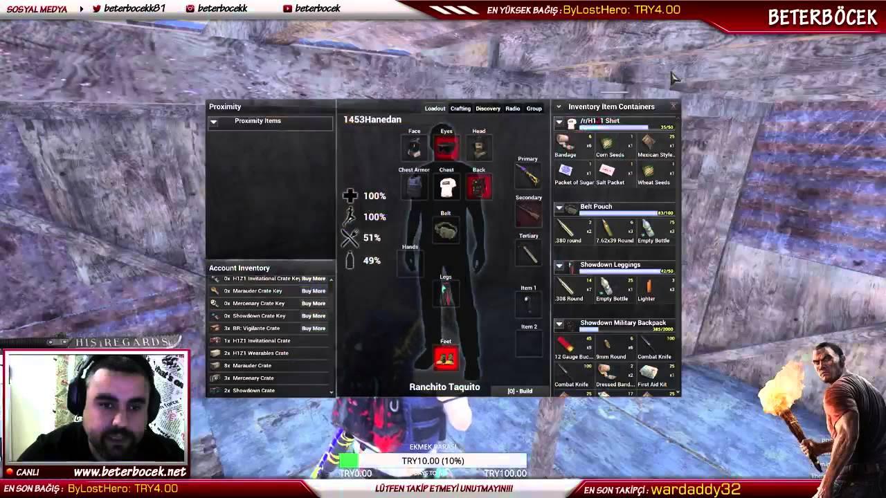 H1Z1 Steam Cüzdan Parası İle Kutu Nasıl Açılır - YouTube