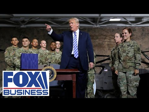 Trump delivers remarks, signs $738 billion Defense Spending Bill