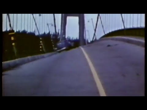 Galloping Gertie: The Collapse of the Tacoma Narrows Bridge - 1940 (silent)
