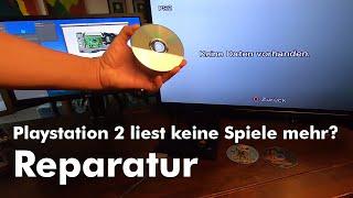 Playstation 2 liest keİne CDs mehr - Reparatur