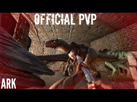 GETTING and USING THE MEGALOSAURUS w/ Argy Tame  - Official PVP (E22) - ARK Survival