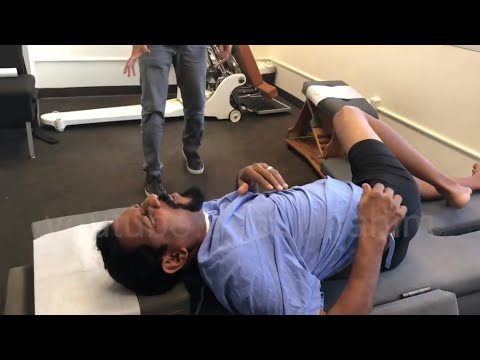 """The Cobra"" HELPS a Trinidadian Man with Sciatica  - Dr. Rahim Chiropractic"