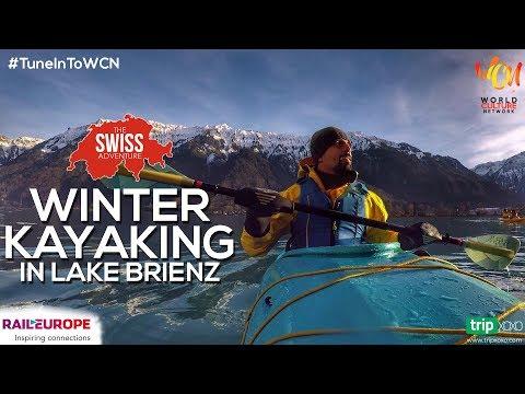 Winter Kayaking In Lake Brienz, Switzerland | The Swiss Adventure | World Culture Network
